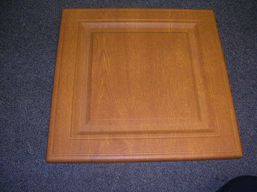 MDF kitchen cabinet decorated with IR