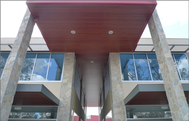 Wood Grain Decorative Awnings Decoral System