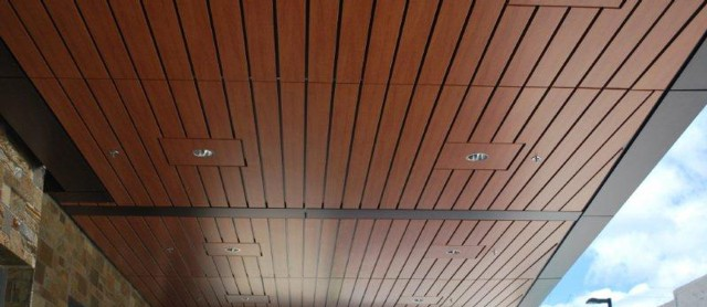 Decorative Wood Grain Ceilings Decoral System